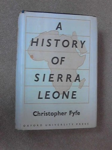 History of Sierra Leone (0198216130) by Fyfe, Christopher