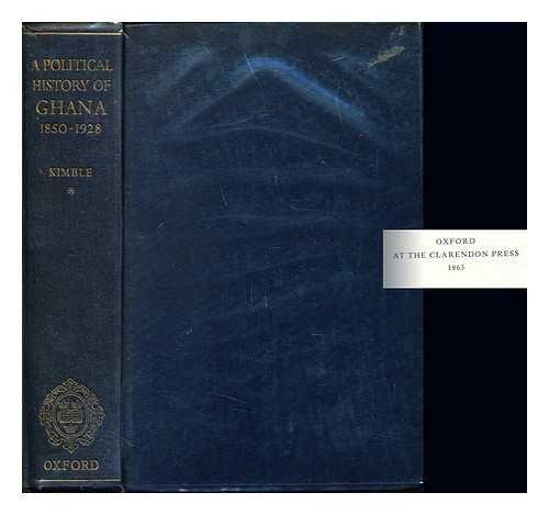 9780198216230: Political History of Ghana, 1850-1928