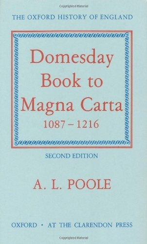 9780198217077: From Domesday Book to Magna Carta, 1087-1216 (Oxford History of England)