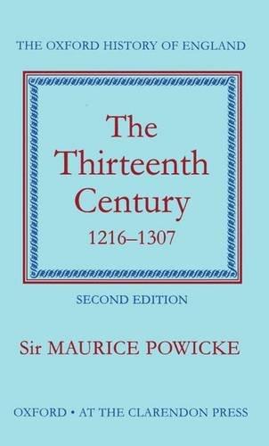 9780198217084: The Thirteenth Century 1216-1307
