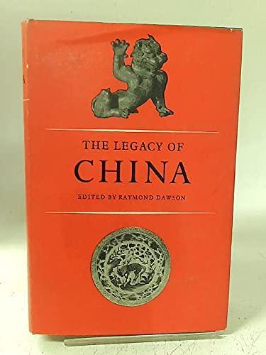 9780198219118: Legacy of China