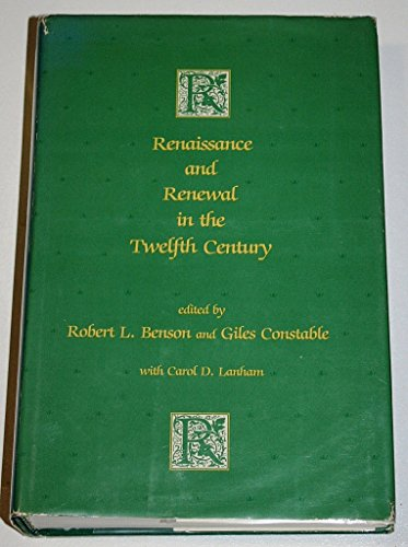 9780198219347: Renaissance and Renewal in the Twelfth Century