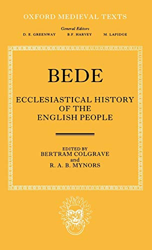 9780198221739: Bede's Ecclesiastical History of the English People (Oxford Medieval Texts)