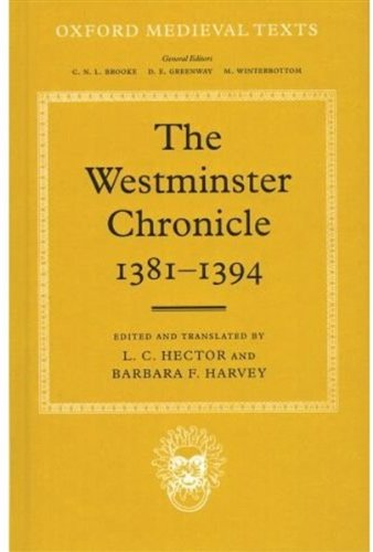 The Westminster Chronicle, 1381-94
