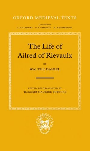 9780198222569: The Life of Ailred of Rievaulx (Oxford Medieval Texts)