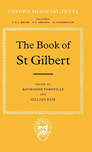 THE BOOK OF ST GILBERT