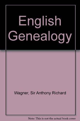 9780198223344: English Genealogy