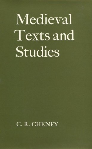 9780198223993: Medieval Texts and Studies