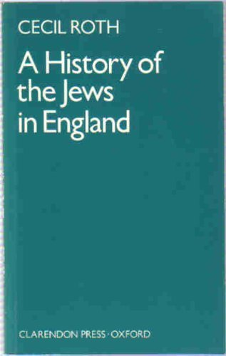 9780198224884: History of the Jews in England