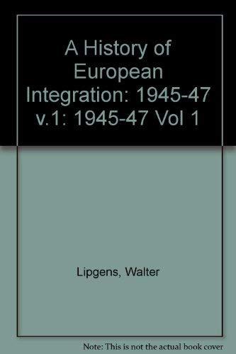 9780198225874: History of European Integration