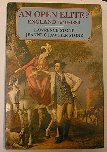 9780198226451: An Open Elite?: England 1540-1880