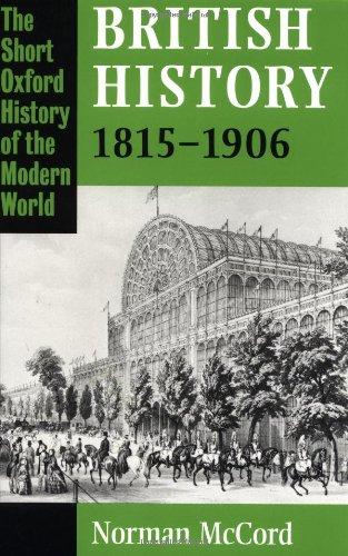 9780198228585: British History 1815-1906