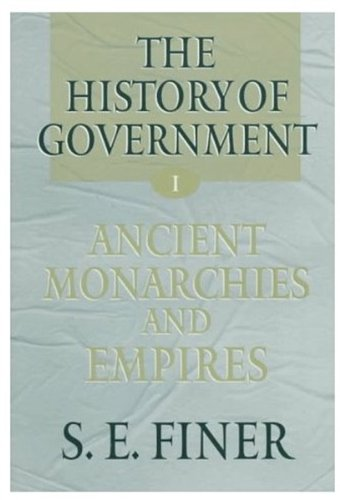9780198229049: The History of Government from the Earliest Times: Vol.2
