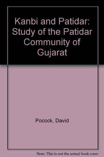 Kanbi and Patidar: Study of the Patidar: Pocock, David