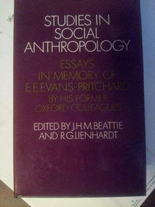 Studies in Social Anthropology: London ; New