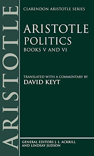 9780198235354: Aristotle: Politics, Books V and VI