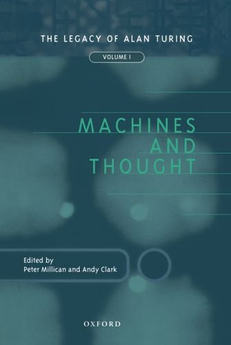 9780198235934: 1: Machines and Thought: The Legacy of Alan Turing, Volume I (Mind Association Occasional Series)