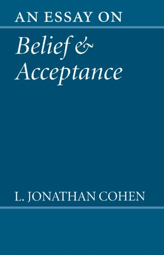 9780198236047: An Essay on Belief and Acceptance