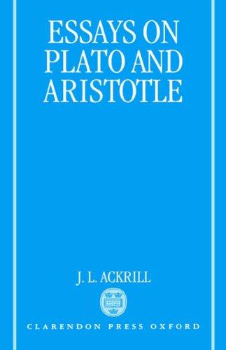 9780198236412: Essays on Plato and Aristotle