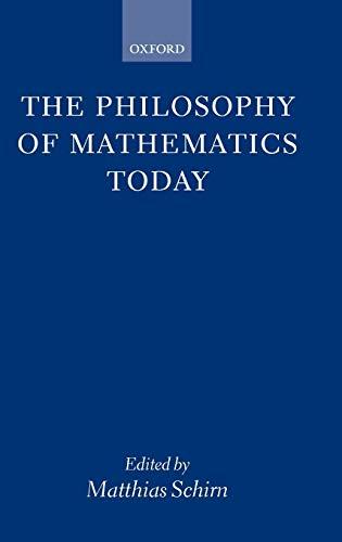 9780198236542: The Philosophy of Mathematics Today