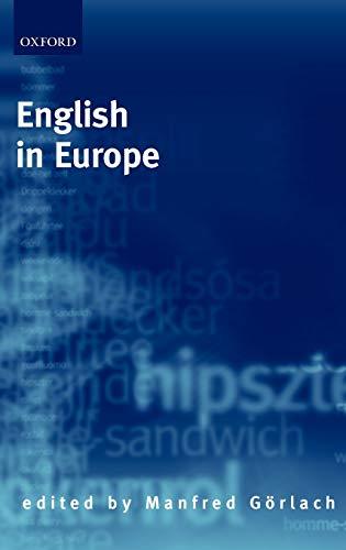 9780198237143: English in Europe