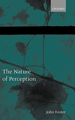 9780198237693: The Nature of Perception