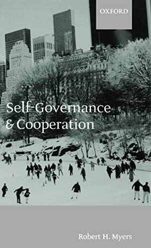 9780198238393: Self-Governance and Cooperation