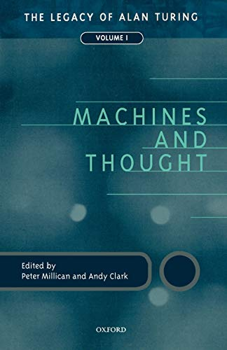 9780198238768: 1: Machines and Thought: The Legacy of Alan Turing, Volume I (Mind Association Occasional Series)