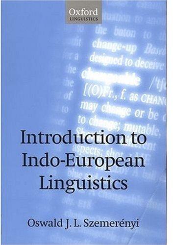 9780198240150: Introduction to Indo-European Linguistics