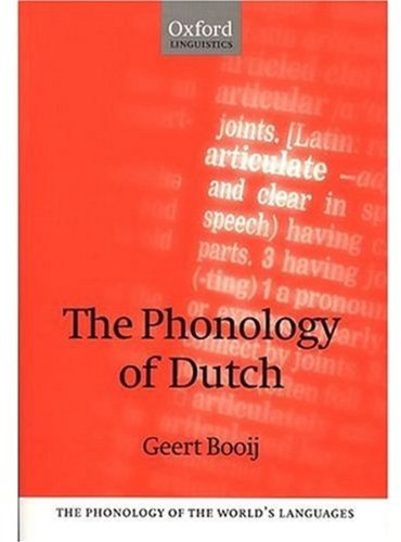 9780198240273: The Phonology of Dutch