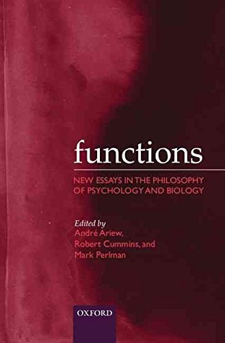 9780198241034: Functions: New Essays in the Philosophy of Psychology and Biology