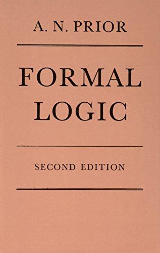 9780198241560: Formal Logic