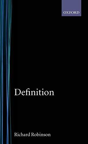 9780198241607: Definition