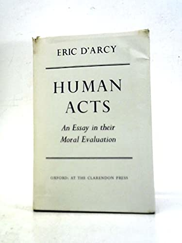 9780198241881: Human Acts