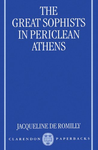 9780198242345: The Great Sophists in Periclean Athens