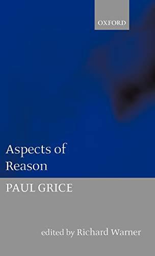 9780198242529: Aspects of Reason