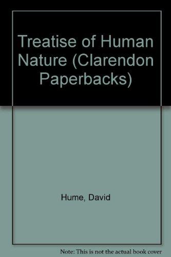 9780198243212: Treatise of Human Nature (Clarendon Paperbacks)