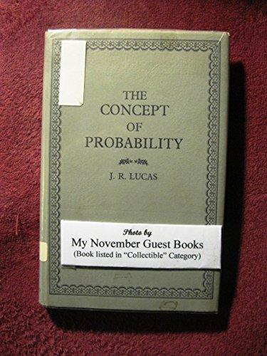 Concept of Probability: Lucas, J. R.