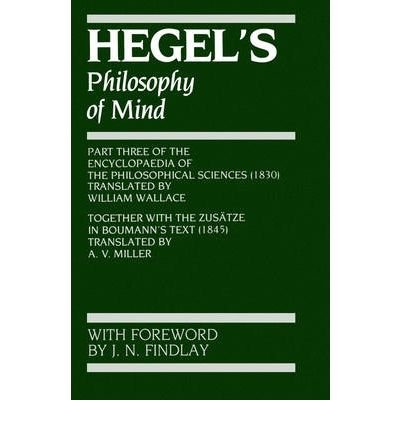 9780198243458: Hegel's Philosophy of Mind