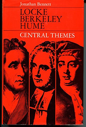 9780198243526: Locke, Berkeley, Hume: Central Themes