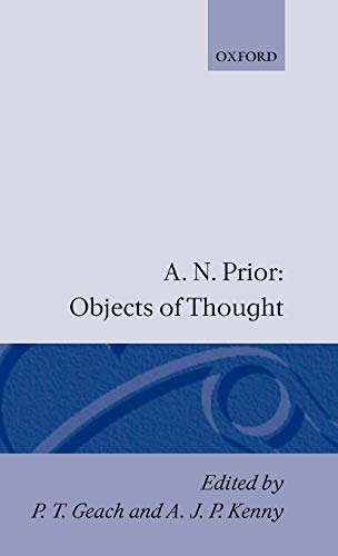 9780198243540: Objects of Thought