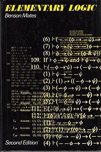 9780198243977: Elementary Logic