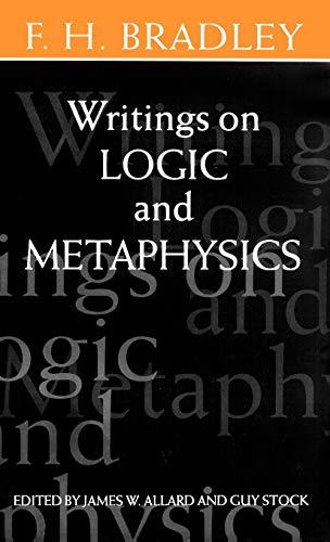 9780198244455: Writings on Logic and Metaphysics