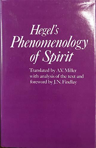Phenomenology of Spirit: Hegel, G. W.