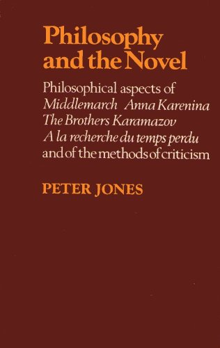 Philosophy and the Novel: Philosophical Aspects of: Jones, Peter