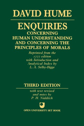 9780198245360: Enquiries concerning Human Understanding and concerning the Principles of Morals