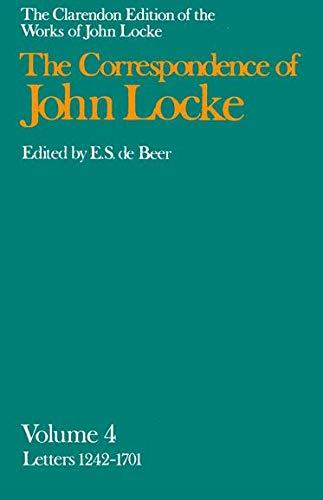 9780198245612: John Locke: Correspondence: Volume IV, Letters 1242-1701: 004