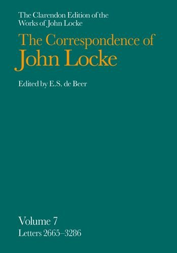 9780198245643: The Clarendon Edition of the Works of John Locke: Correspondence: Volume VII. Letters 2665-3286: Letters 2665-3286 Vol 7