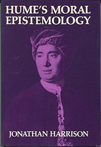 9780198245667: Hume's Moral Epistemology