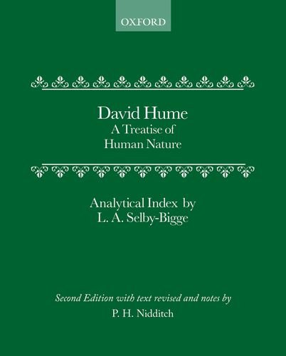 9780198245872: A Treatise of Human Nature